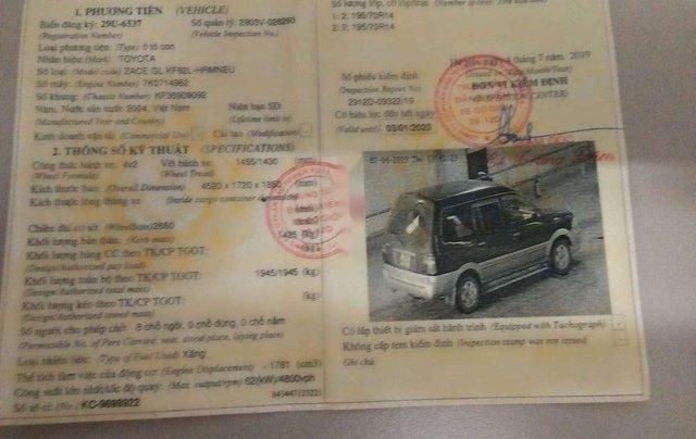 Cần bán Toyota Zace đời 2004, màu xanh lục còn mới, giá tốt8