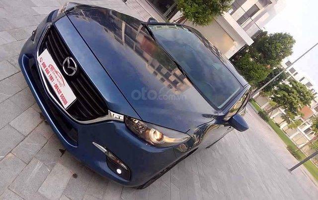Bán Mazda 3 1.5 AT năm sản xuất 2018, màu xanh lam còn mới 0