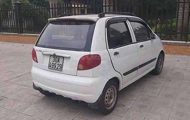 Cần bán lại xe Daewoo Matiz sản xuất 2003, màu trắng còn mới2