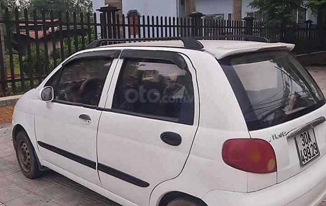 Cần bán lại xe Daewoo Matiz sản xuất 2003, màu trắng còn mới0