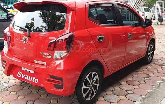 Bán Toyota Wigo 1.2 đời 2019, màu đỏ, xe nhập số tự động1