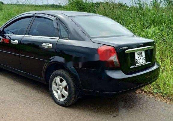 Bán xe Daewoo Lacetti đời 2008, màu đen11
