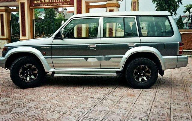 Bán Mitsubishi Pajero sản xuất năm 2002, màu xám, nhập khẩu 9