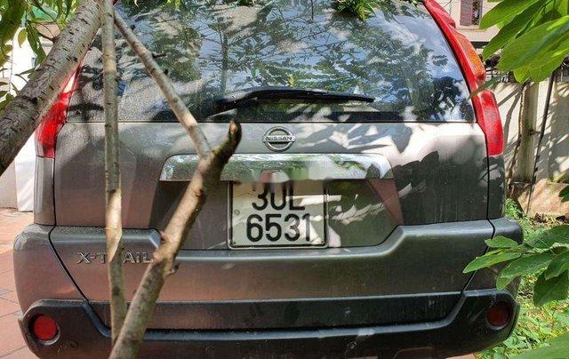 Cần bán gấp Nissan X trail đời 2008, màu xám, nhập khẩu nguyên chiếc2