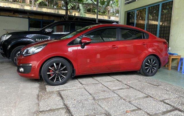 Chính chủ bán Kia Rio 2016, màu đỏ, nhập khẩu nguyên chiếc1