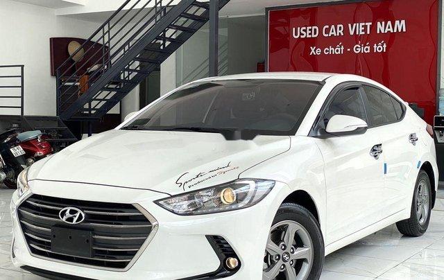 Bán Hyundai Elantra GLS 1.6MT sản xuất 2019, màu trắng, biển TP. HCM tên cá nhân2