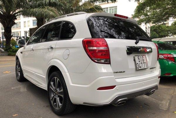 Bán xe Chevrolet Captiva 2017, màu trắng, số tự động, 428 triệu3