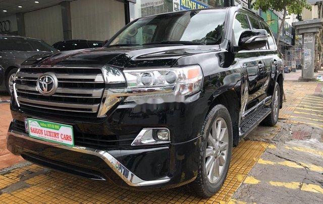 Bán Toyota Land Cruiser đời 2018, màu đen, siêu hiếm, cực chất0