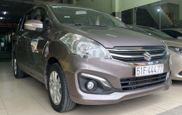 Gia đình bán Suzuki Ertiga năm sản xuất 2016, màu xám, xe nhập, 7 chỗ1