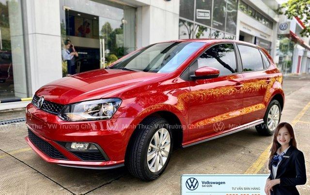 Xe Volkswagen Polo Hatchback màu đỏ 2020, giảm giá tốt - giao ngay2
