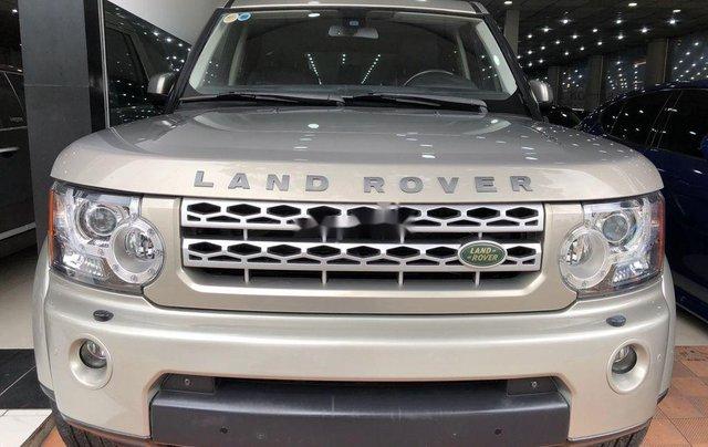 Bán xe LandRover Discovery đời 2010, màu vàng số tự động, hiếm có khó tìm0