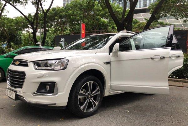 Bán xe Chevrolet Captiva 2017, màu trắng, số tự động, 428 triệu6