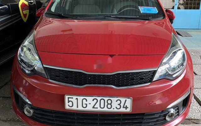Chính chủ bán Kia Rio 2016, màu đỏ, nhập khẩu nguyên chiếc0