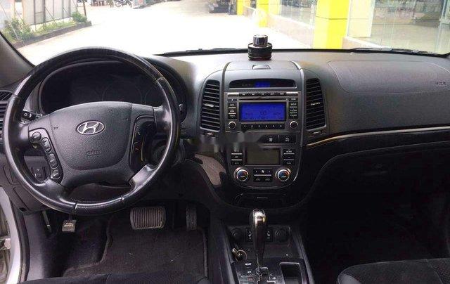 Bán xe Hyundai Santa Fe sản xuất 2009, màu bạc, xe nhập  7
