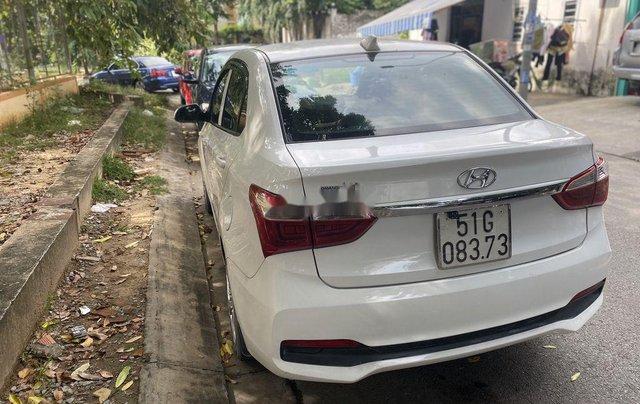 Bán ô tô Hyundai Grand i10 sản xuất 2018, màu trắng4