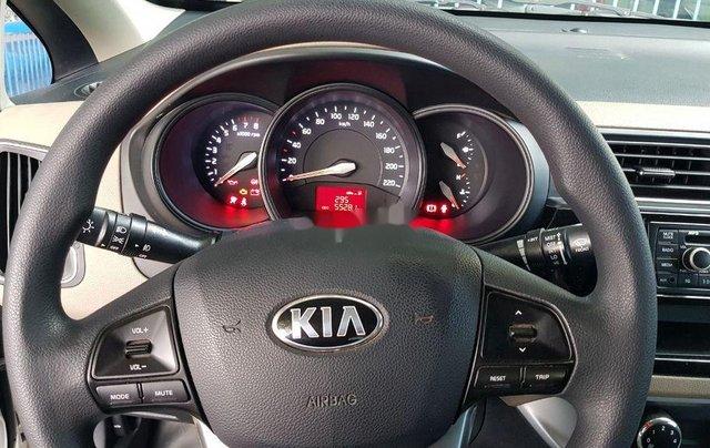 Bán ô tô Kia Rio sản xuất 2017, màu bạc, xe nhập, đẹp xuất sắc5