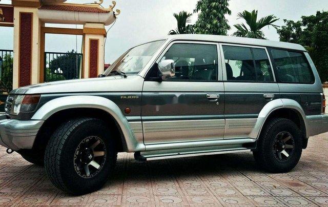Bán Mitsubishi Pajero sản xuất năm 2002, màu xám, nhập khẩu 2