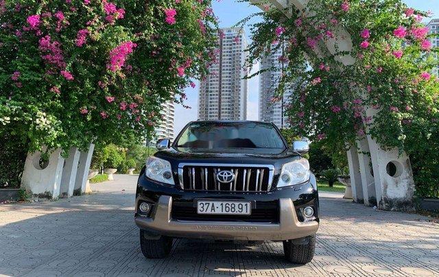 Bán xe Toyota Land Cruiser Prado TXL đời 2010, màu đen, nhập khẩu 0