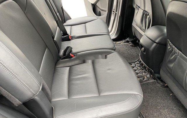 Cần bán lại xe Hyundai Santa Fe sản xuất 2014, màu trắng 6