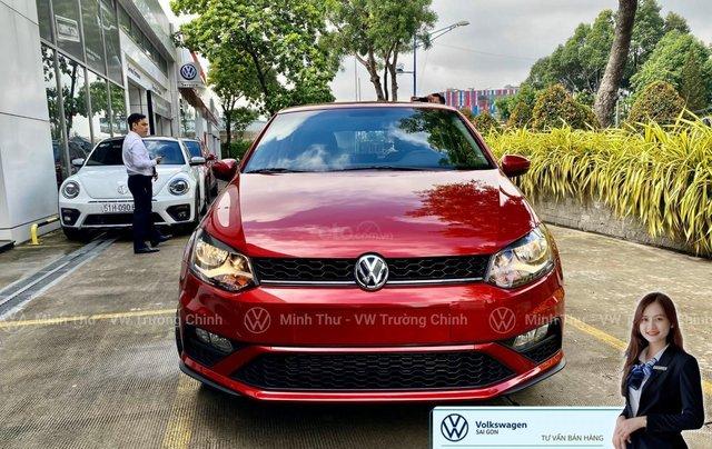Xe Volkswagen Polo Hatchback màu đỏ 2020, giảm giá tốt - giao ngay0