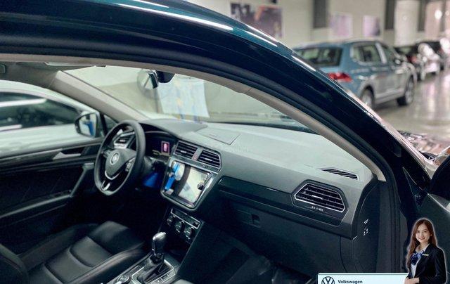 Xe Tiguan Luxury xanh rêu - khuyến mãi giá tốt - SUV 7 chỗ nhập khẩu3
