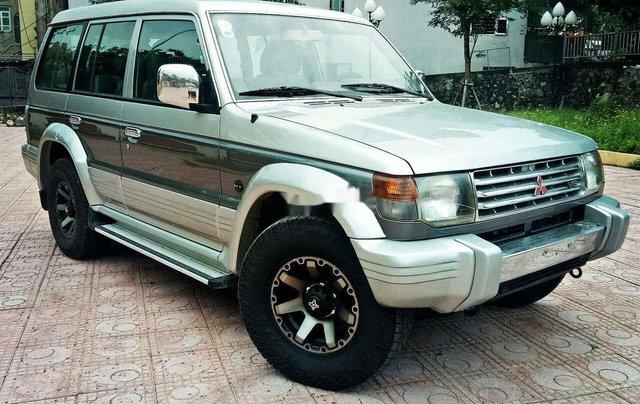 Bán Mitsubishi Pajero sản xuất năm 2002, màu xám, nhập khẩu 1