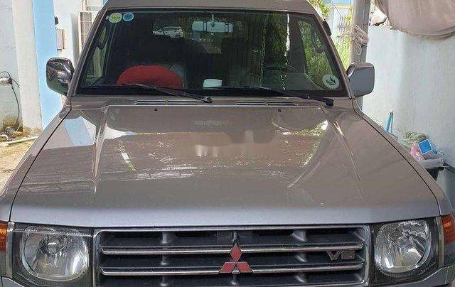 Gia đình bán Mitsubishi Pajero sản xuất năm 2003, màu bạc, nhập khẩu6