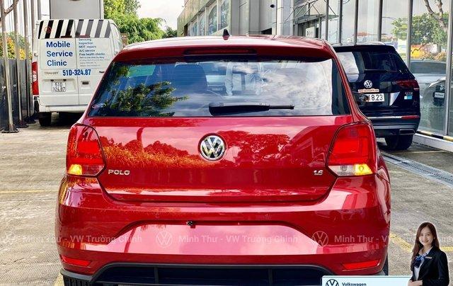 Xe Volkswagen Polo Hatchback màu đỏ 2020, giảm giá tốt - giao ngay4