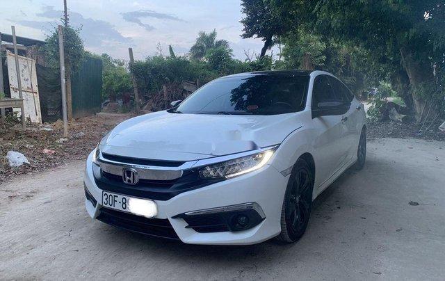 Bán xe Honda Civic đời 2017, màu trắng, xe nhập còn mới, giá chỉ 739 triệu1
