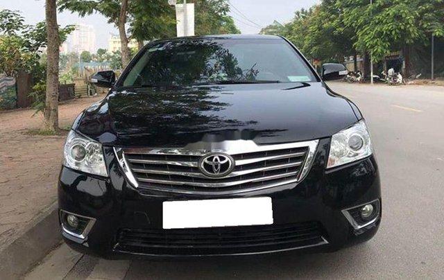 Lên đời bán Toyota Camry năm 2010, màu đen0