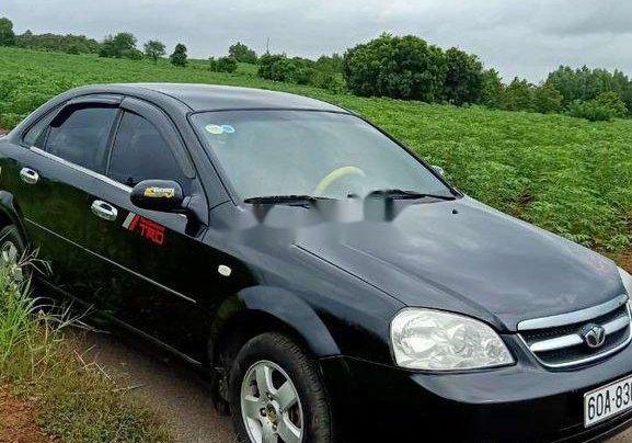 Bán xe Daewoo Lacetti đời 2008, màu đen2