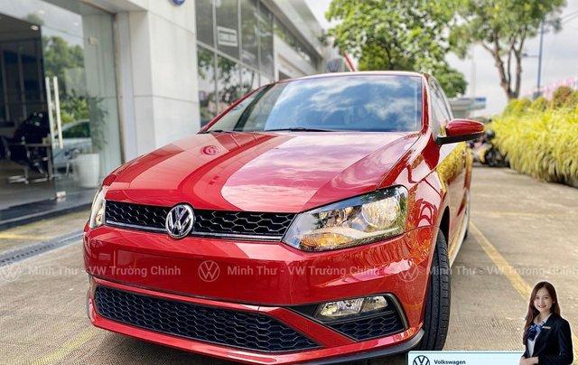 Xe Volkswagen Polo Hatchback màu đỏ 2020, giảm giá tốt - giao ngay5