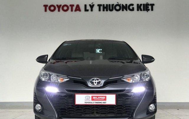 Bán Toyota Yaris đời 2018, màu xám còn mới giá cạnh tranh0