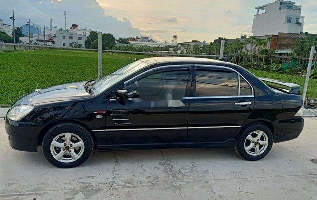 Lên đời bán Mitsubishi Lancer năm 2003, màu đen, máy chất0