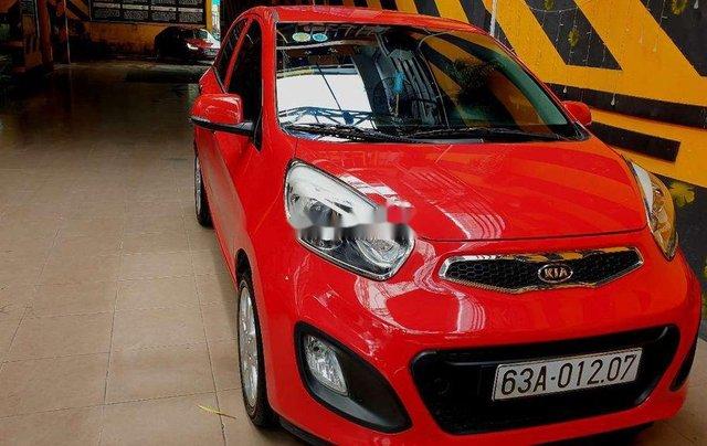 Bán xe Kia Picanto sản xuất năm 2013, màu đỏ số sàn, 243tr0