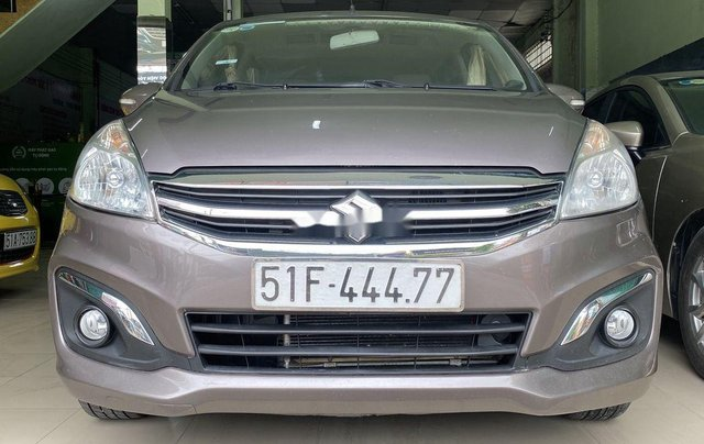 Gia đình bán Suzuki Ertiga năm sản xuất 2016, màu xám, xe nhập, 7 chỗ9