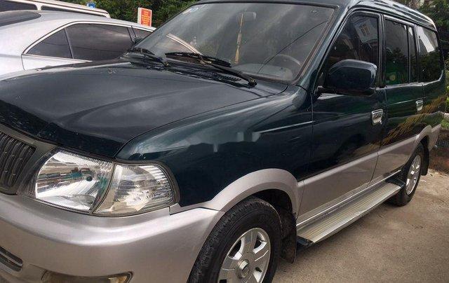 Cần bán gấp Toyota Zace đời 2005, màu xanh, giá 140tr0
