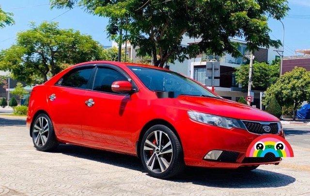 Cần bán xe Kia Cerato năm sản xuất 2010, màu đỏ, nhập khẩu nguyên chiếc 2
