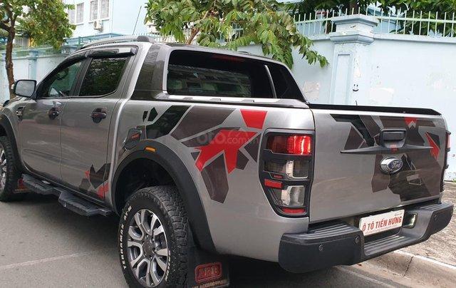 Bán Ford Ranger Wildtrak 2 cầu dầu 3.2 số tự động, đời 2017, màu xám bạc đẹp mới 80%4