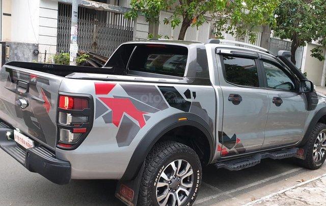 Bán Ford Ranger Wildtrak 2 cầu dầu 3.2 số tự động, đời 2017, màu xám bạc đẹp mới 80%5