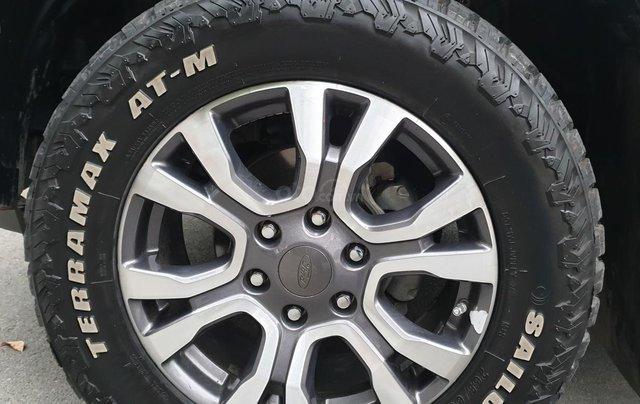 Bán Ford Ranger Wildtrak 2 cầu dầu 3.2 số tự động, đời 2017, màu xám bạc đẹp mới 80%14
