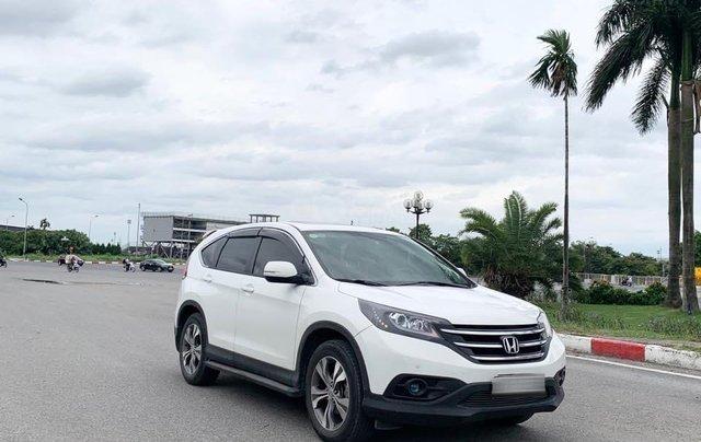 Bán Honda CRV bản 2.4 đời 2014 màu trắng2