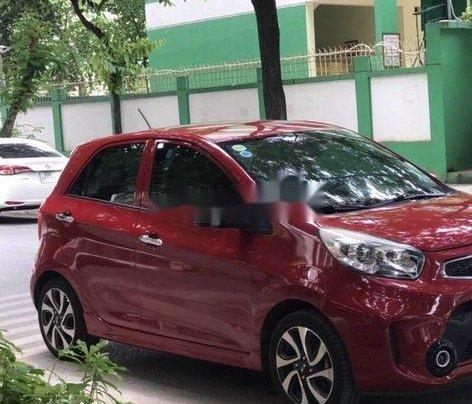 Cần bán gấp Kia Morning năm sản xuất 2016, màu đỏ xe gia đình, giá tốt1