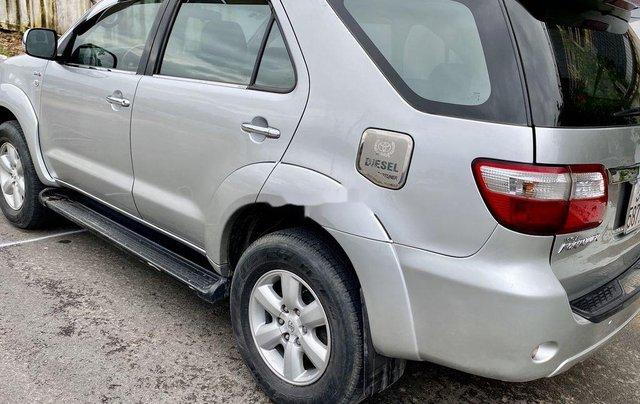 Bán Toyota Fortuner sản xuất năm 2009, màu bạc 0