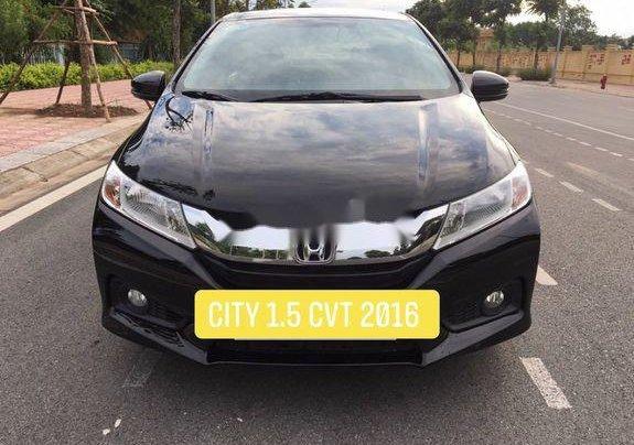 Cần bán xe Honda City 1.5CVT sản xuất năm 2016, xe chính chủ còn mới, giá thấp1