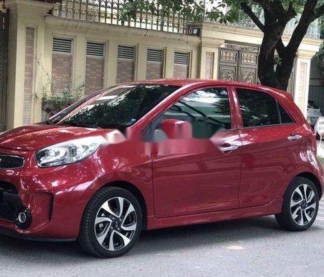 Cần bán gấp Kia Morning năm sản xuất 2016, màu đỏ xe gia đình, giá tốt2