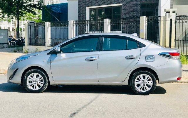 Bán Toyota Vios đời 2018, màu bạc, 410 triệu13