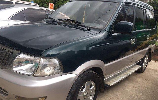 Cần bán gấp Toyota Zace đời 2005, màu xanh, giá 140tr2