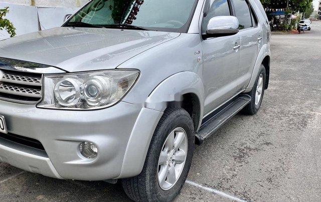 Bán Toyota Fortuner sản xuất năm 2009, màu bạc 2