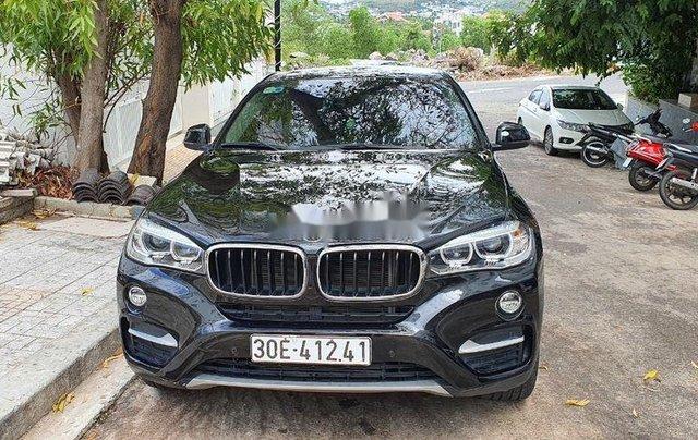 Cần bán BMW X6 năm sản xuất 2017, màu đen, nhập khẩu còn mới1